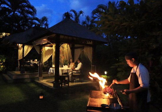 The Pavilions Bali: Jahe Restaurant - Private BBQ