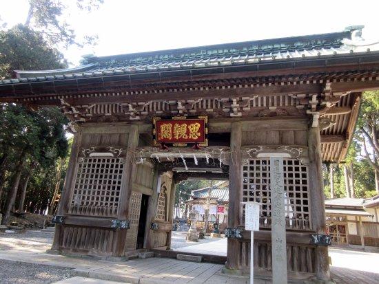 Minobu-cho, Japan: 思親閣の仁王門です。