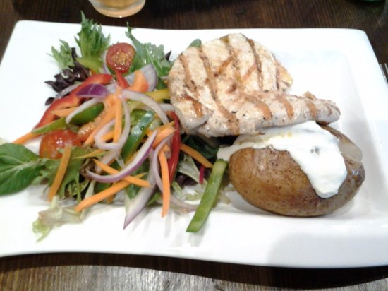Joondalup, Australia: Flame grilled chicken