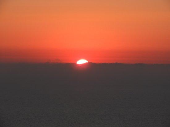 Garantierter unglaublicher Sonnenuntergang