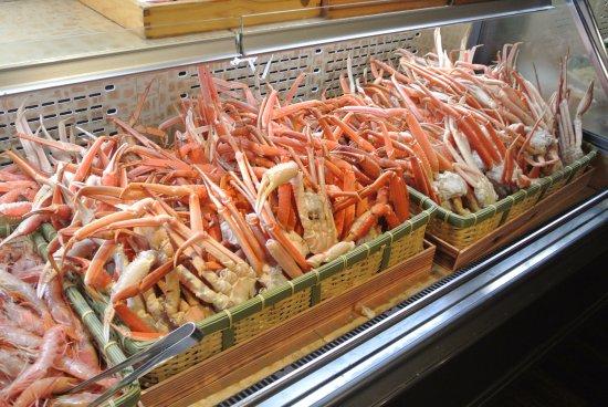 Japanese Buffet Dining Den: King Crab