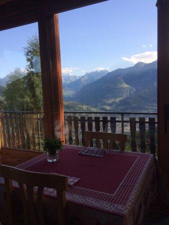 Pila, Italia: Vista tavoli suite