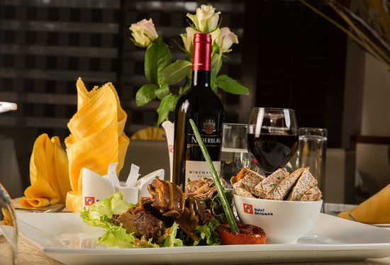 Hotel Africana: One of the amazing dishes in our restaurants