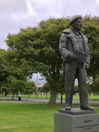 """""""Monty"""" Statue"""