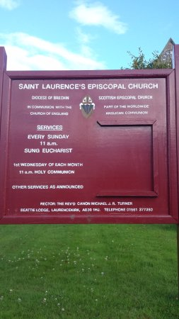 Laurencekirk, UK: The church for the town