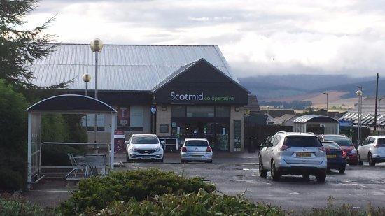 Laurencekirk, UK: Local shop