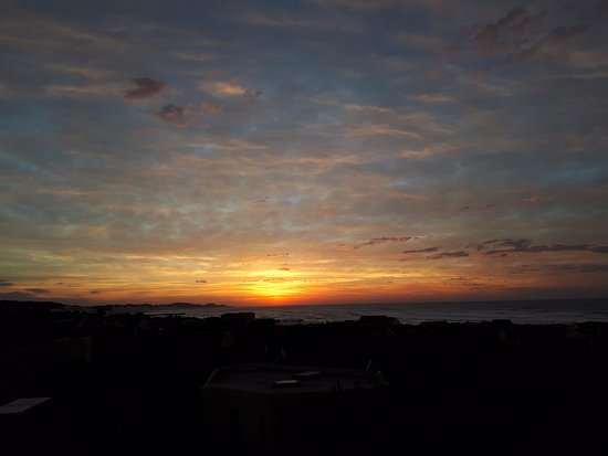 Port Alfred, Güney Afrika: Magical sunrise as seen from the room