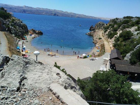 Karlobag, Croacia: Last view to Tatinja Beach