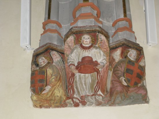 Église Saint-Maurice : Detail from cathedral wall