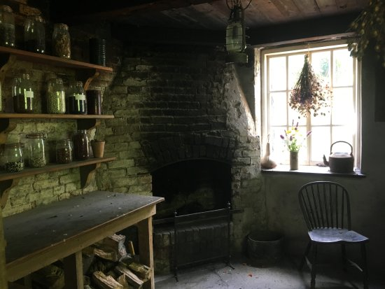 St Austell, UK: history comes alive in head gardener's office