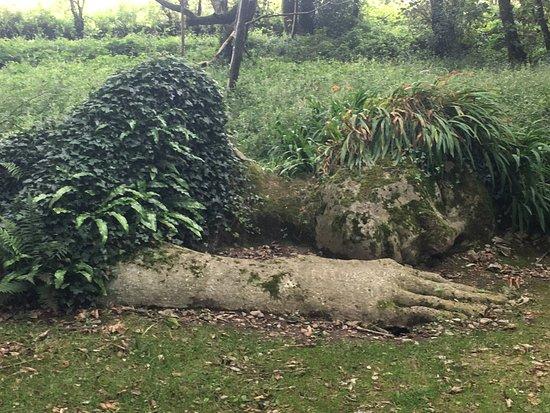 St Austell, UK: mud maid is resting!