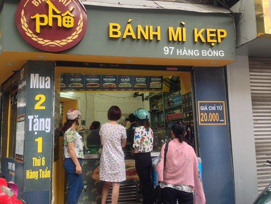 Bánh mì Phố: Thank you for coming to Banh mi Pho