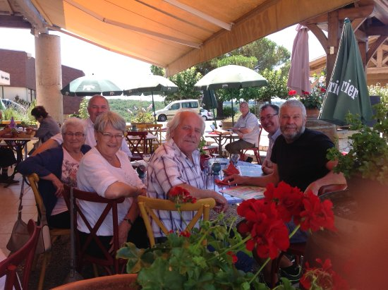 Saint-Nexans, Francia: At the end of a wonderful meal