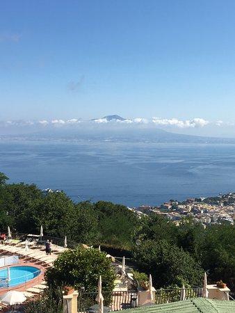 Grand Hotel Hermitage & Villa Romita: view from room 306!