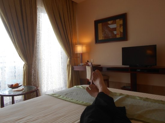 Hulhule Island: My room with a sea view