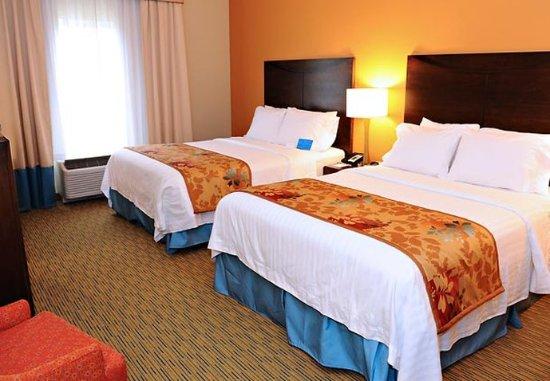 Slippery Rock, Pensilvania: Queen/Queen Guest Room