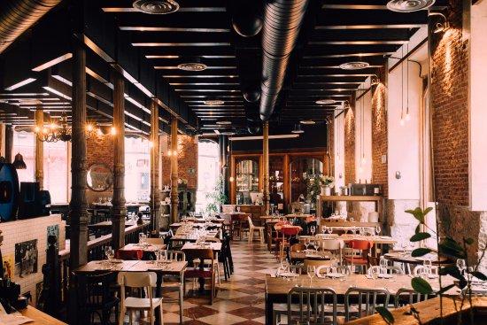 lamucca de prado calle prado 16 madrid cocina abierta