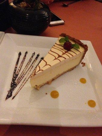 Pringle Bay, África do Sul: Cheesecake - delicious!