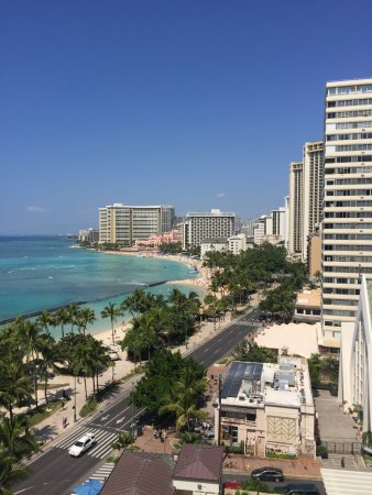 Waikiki Beach Marriott Resort & Spa: Waikiki Marriott Hotel Balcony View