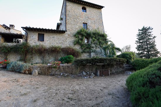 Fortezza de'Cortesi: The surroundings of the house was a bit tired and needs some maintenance.