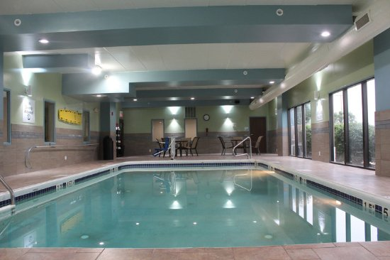 Wilmington, OH: How about swimming some laps in our heated pool?