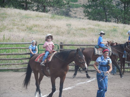Livermore, CO: 5 year old in the rodeo :-)