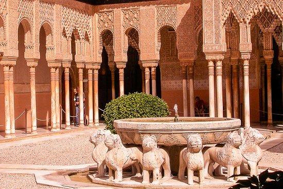 Provincia di Granada, Spagna: Court of the Lions