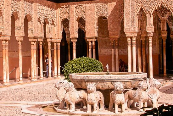 Provinsi Granada, Spanyol: Court of the Lions