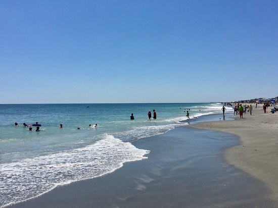 Holden Beach, NC: Beautiful blue/green water