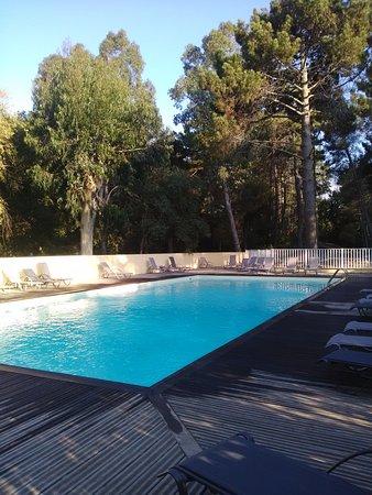 piscine du camping la Pinède