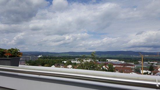 Ingelheim, Alemania: Blick von der Terrasse