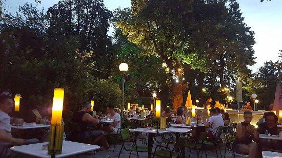 Abendstimmung Picture Of Volksgarten Pavillon Vienna Tripadvisor