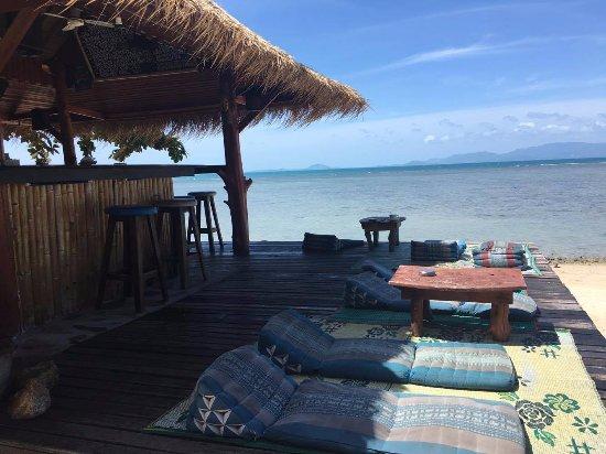 Coco Garden Resort: Bar sulla psiaggia