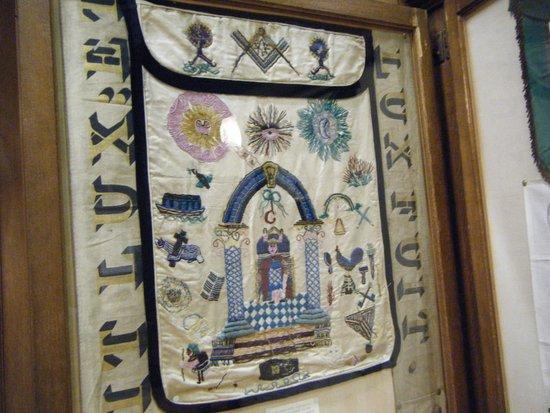 Masonic apron - Picture of Freemasons Hall, Edinburgh, Edinburgh