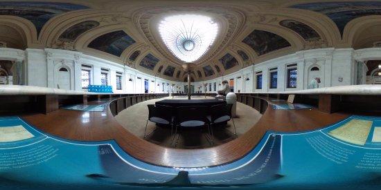 United States Custom House: Hall (360 Photo)