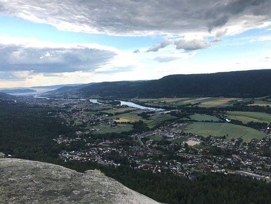Nedre Eiker Municipality, Norwegen: Bilder fra Knabben. En fin treningstur med løyper for store og små. Herlig utsikt på toppen.