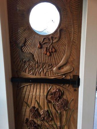 Bellville, OH: Inside of door