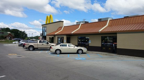 McDonald's, S. Clare Ave, Clare, MI, July 2017