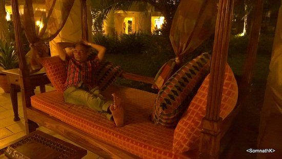 Baobab Beach Resort & Spa: There are many places where you can drop down and relax