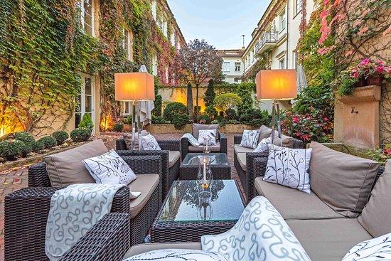 Stykliai Hotel : Relais&Chateaux Stikliai Hotel Terrace