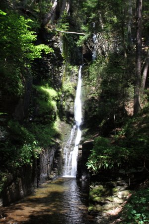 Dingmans Ferry, Pensylwania: Silver Thread Falls