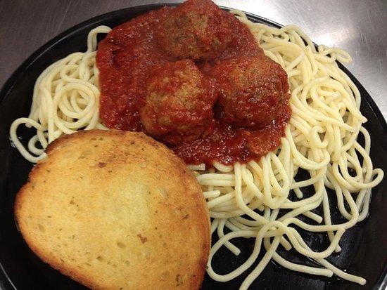 Batesville, AR: Spaghetti & Meatballs