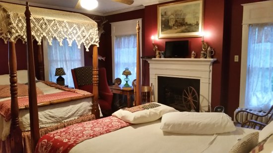 Auburn, Кентукки: One of the rooms at the bed and breakfast