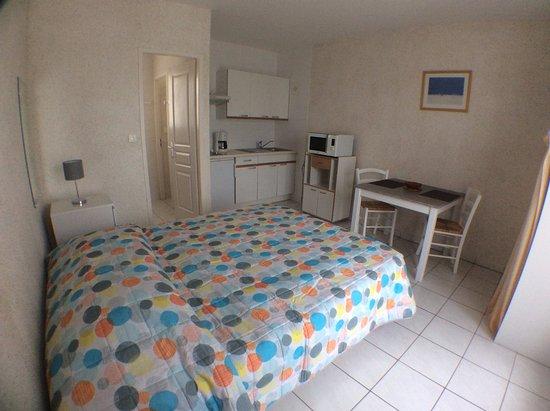 Hotel Residence Les Flots: Studio 2 personnes lit de 160