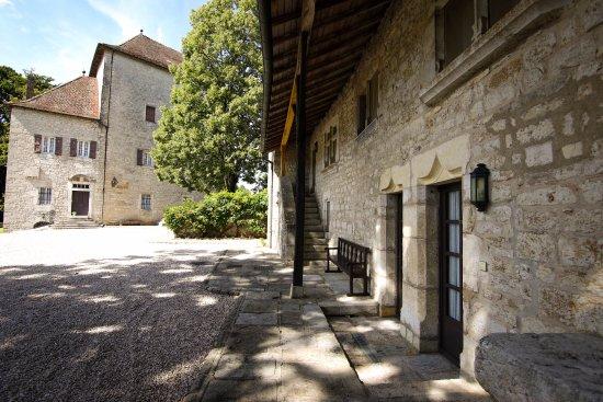 Château d'Andelot : Cour Intérieure