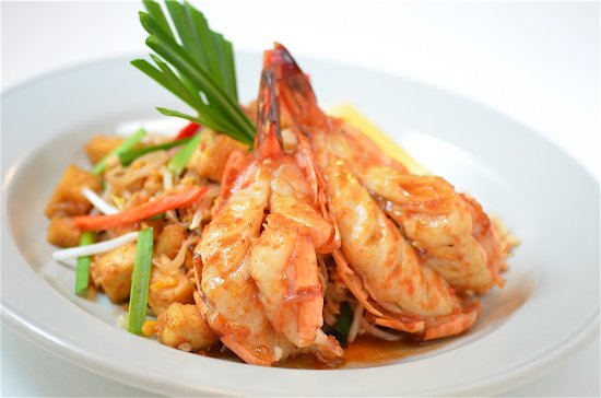 Pad Thai With King Prawn Picture Of Suda Thai Cafe Restaurant