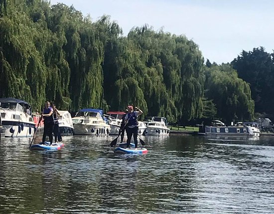 Ely, UK: Tours on the River Ouse with fully insured and qualified ASI SUP School