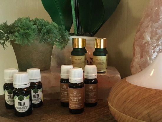 Abingdon, Virginie : Essential oils and diffusers