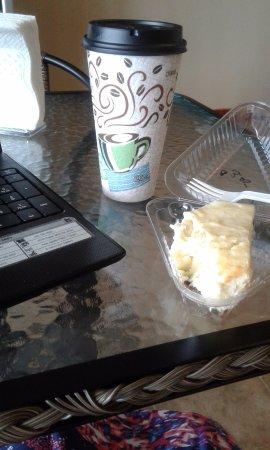 Coffee Break 'N Cheesecake