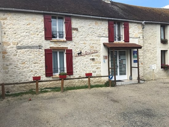 Seine-et-Marne, Prancis: Entrée de la loutinière